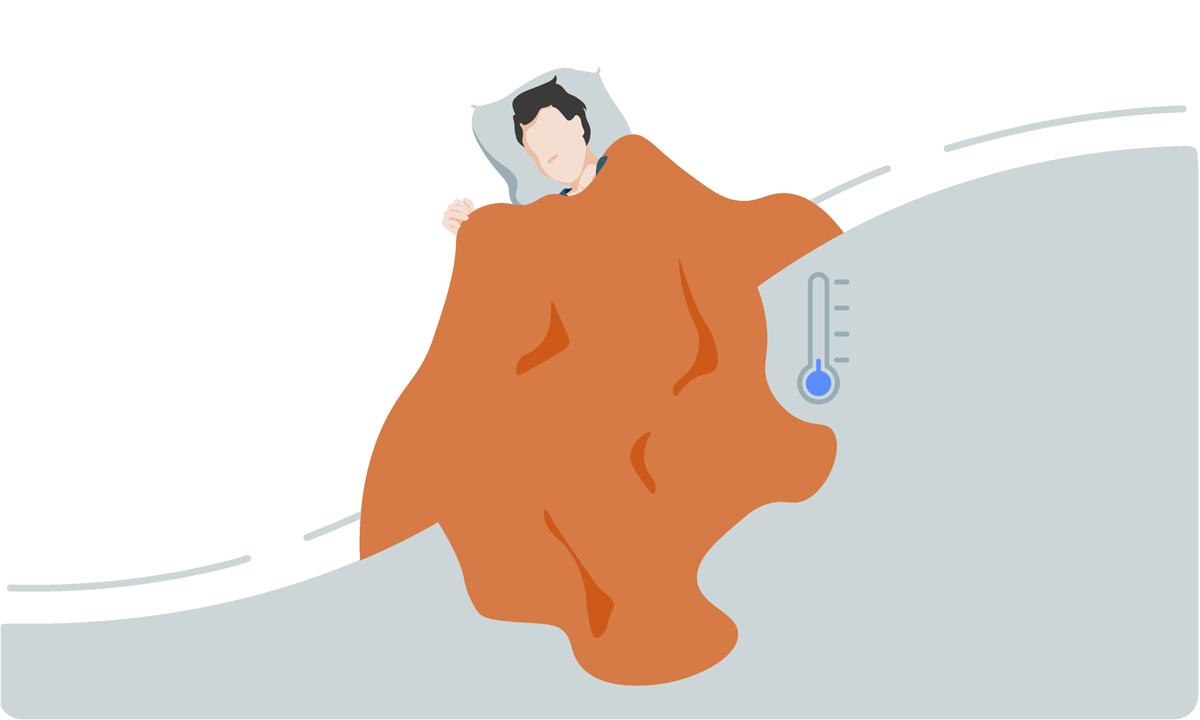 vaak koud in bed