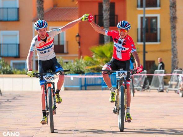 M line ondersteunt Bart Brentjens mountainbiketeam