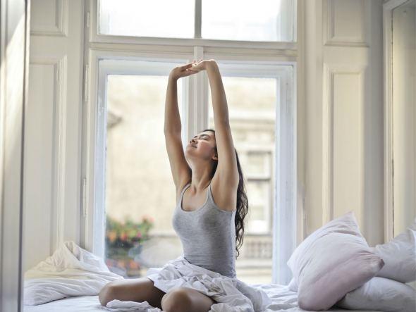Zo kun je mediteren voor het slapen gaan